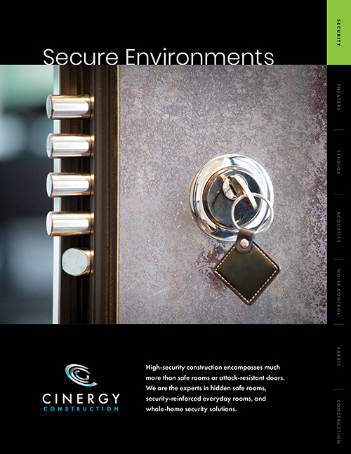 Cinergy Secure Environments Brochure cover